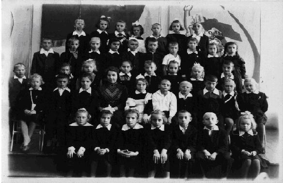 1961 год. 1 класс. Учитель: Салюкова Тамара Яковлевна